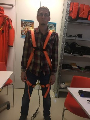 USING SAFETY HARNESS